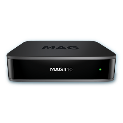 MAG 410 Android IPTV box