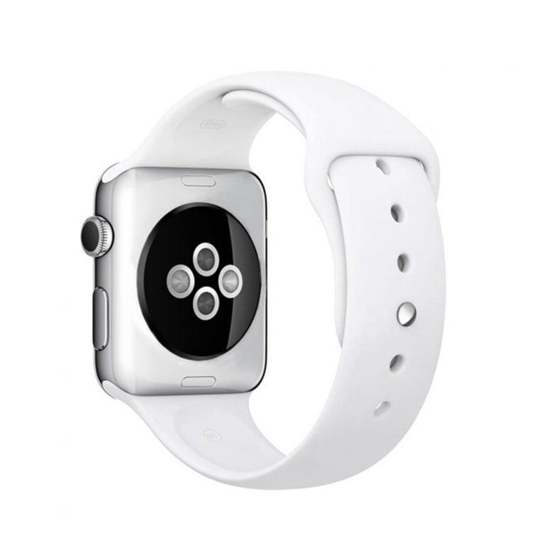 DM09 smartwatch wit achterkant
