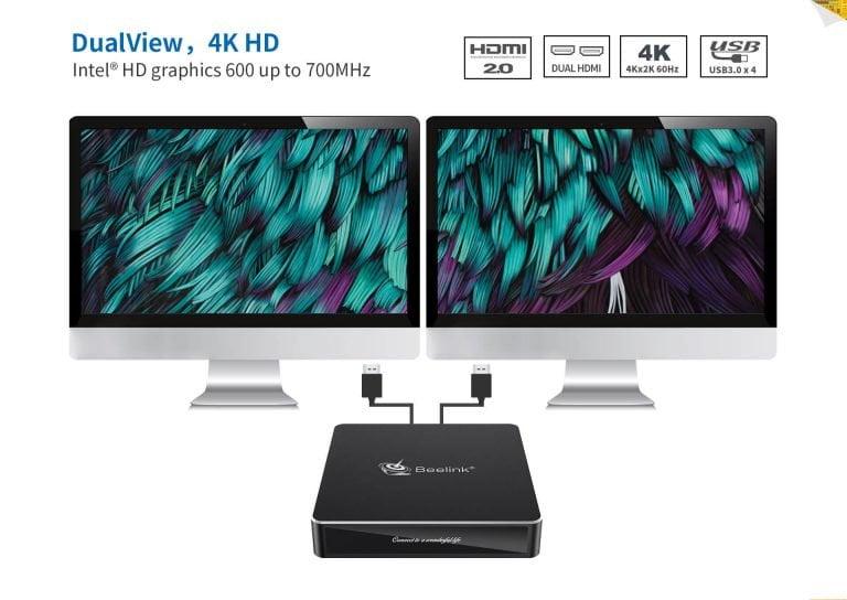 N41 Beelink dual HDMI