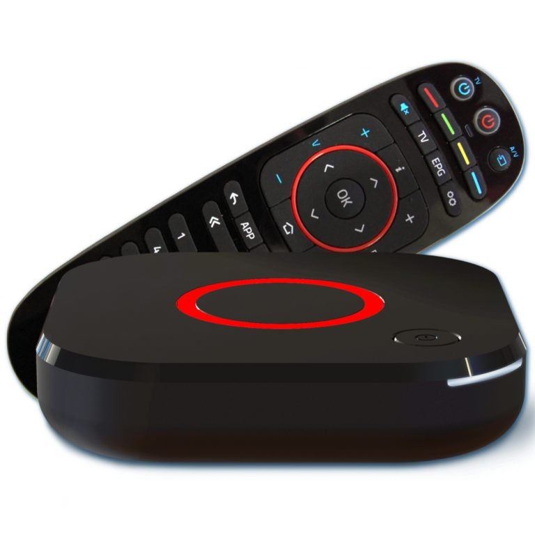 MAG 324 - 325 IPTV Box met remote