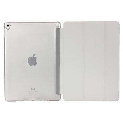 iPad hoesje bookcase grijs