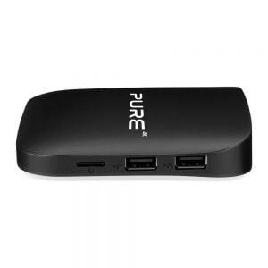 Xsarius Pure Basic Android IPTV Box zijkant