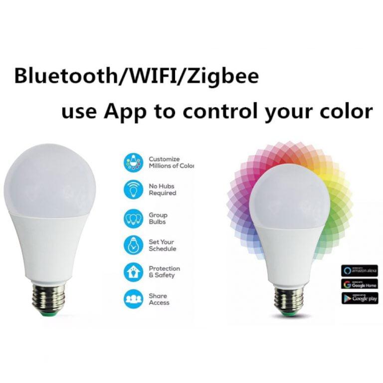 Xidio Smart Home kleurrijke lamp app