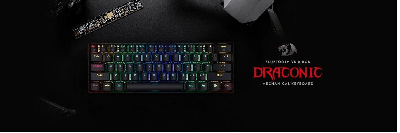 Redragon Draconic K530 gaming toetsenbord banner