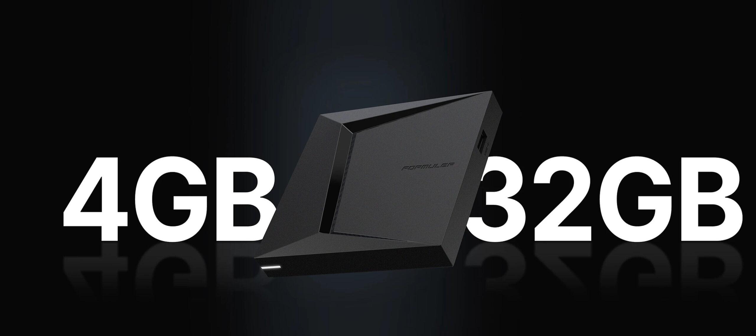 Formuler Z10 Pro Max 4GB 32GB