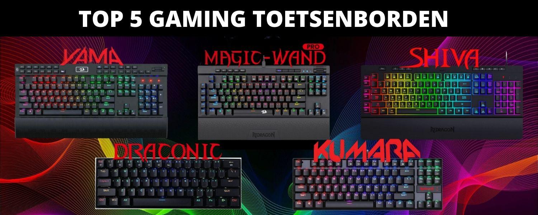 Beste gaming toetsenbord (1)