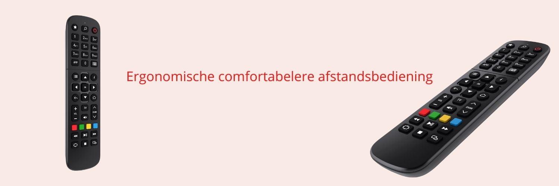 MAG522w1 Ergonomische comfortabelere afstandsbediening