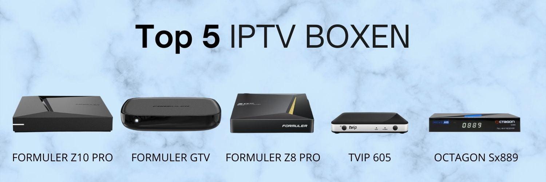 Top 5 IPTV boxen(3)
